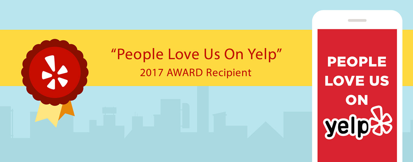 'People Love Us on Yelp' Award Winner